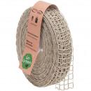 Linen band Nature Alma width 40mm, length 20m, nat